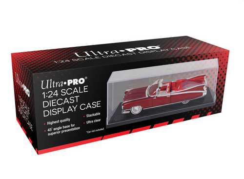 Ultra Pro 1/24 Scale Diecast Car Display Case Acrylic Holder For Model Cars
