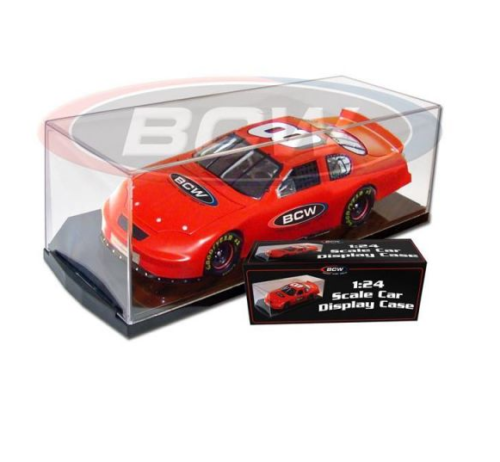 BCW 1:24 Scale Diecast Car Acrylic Display Case For Action NASCAR