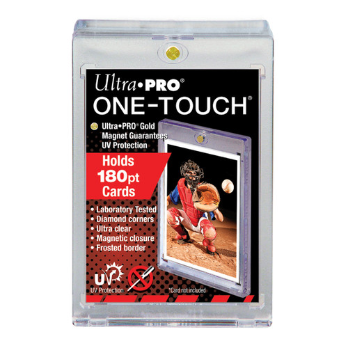 Ultra Pro 180pt One-Touch Super Thick Magnetic Trading Card Holder with UV Protection