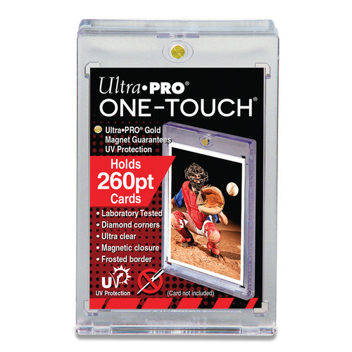 Ultra Pro 260pt One-Touch Super Thick Magnetic Trading Card Holder with UV Protection