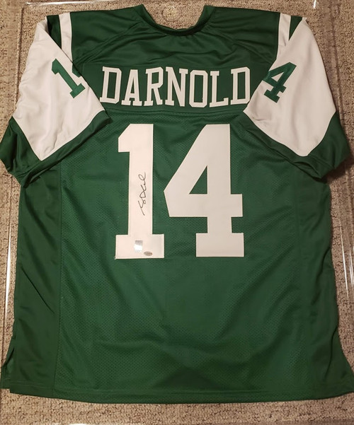 Sam Darnold New York Jets Signed Autographed Jersey Certified Leaf Authentic COA