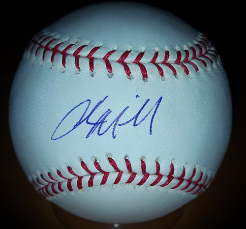 Adam Miller Cleveland Indians Signed Autographed Rawlings Baseball with COA