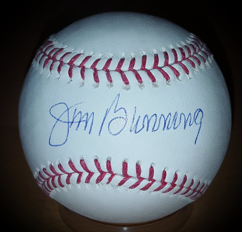 Jim Bunning Phillies Signed Autographed Baseball Limited 08/25 Tristar COA