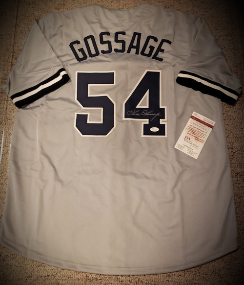 Goose Gossage New York Yankees Signed Autographed Jersey JSA COA Authentic