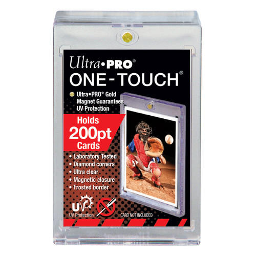Ultra Pro 200pt One-Touch Super Thick Magnetic Trading Card Holder with UV Protection