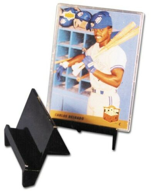 Pro-Mold Trading Card Stand - Holds Trading Cards, Toploads, Small Photos