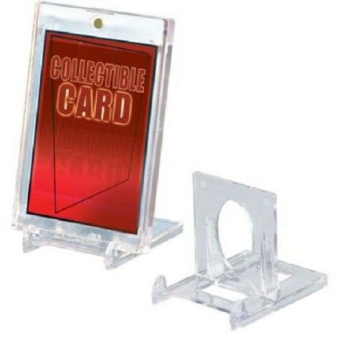 (5 Pack) Ultra Pro 2-Piece Adjustible Trading Card Stands - Put Your Cards On Display!