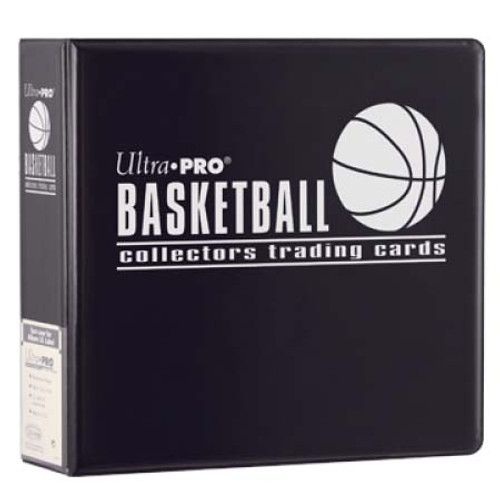 """Ultra Pro 3"""" Basketball Trading Card Collector's Album (Black) Collection Binder"""