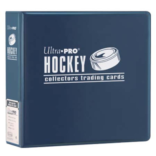 """Ultra Pro 3"""" Hockey Trading Card Collector's Album (Blue) Collection Binder"""