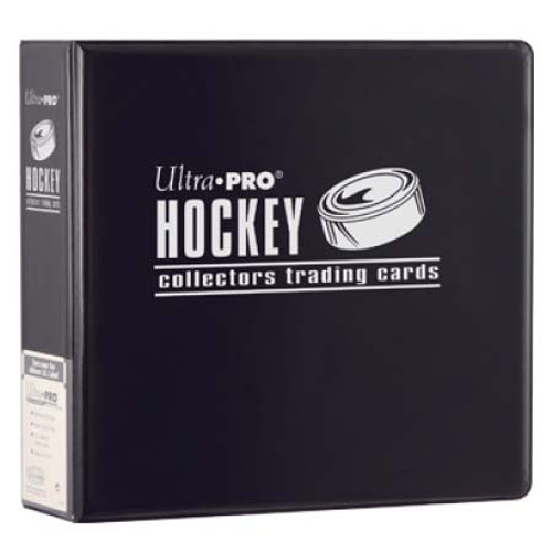 """Ultra Pro 3"""" Hockey Trading Card Collector's Album (Black) Collection Binder"""