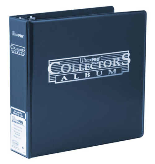 """Ultra Pro 3"""" Trading Card Collector's Album (Blue) Gaming / Sportscard Binder"""