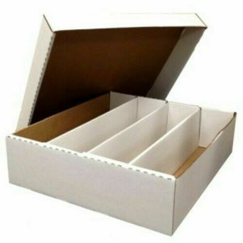 3200 Count Monster Box 4-Row Trading Card Storage Box