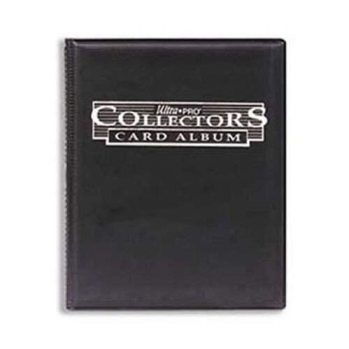 Ultra Pro Collector's Album (Black) 9-Pocket Page Portfolio with Built in Pages