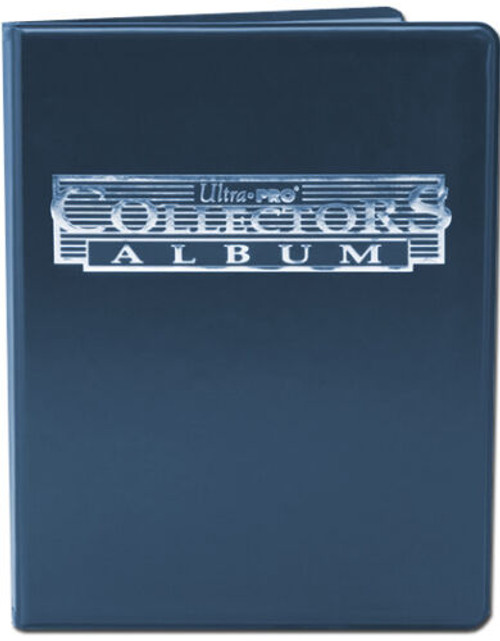 Ultra Pro 4 Pocket Trading Card Album (Blue) Portfolio with Built In Pages