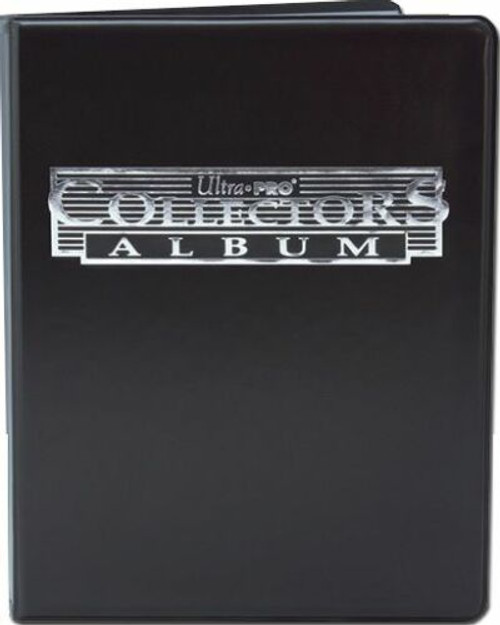 Ultra Pro 4 Pocket Trading Card Album (Black) Portfolio with Built In Pages