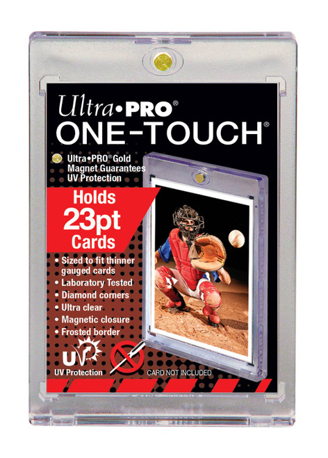 Ultra Pro 23pt Thinner Size One-Touch Magnetic Trading Card Holder with UV Protection