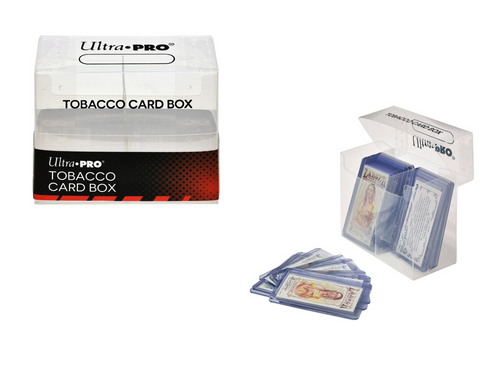 Ultra Pro Tobacco Card Box For Mini Trading Card Collections