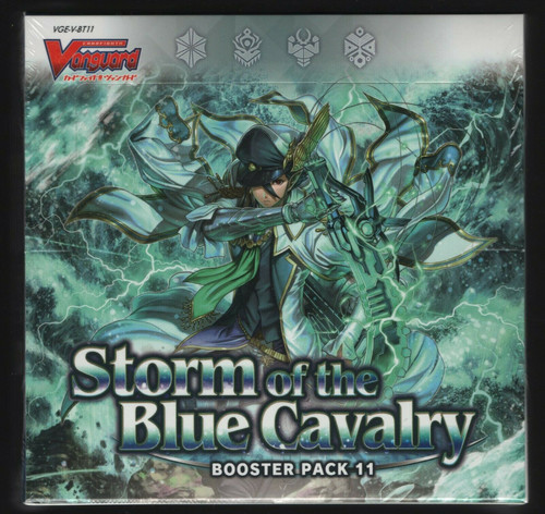 Cardfight Vanguard Storm of the Blue Cavalry VBT11 Booster Box