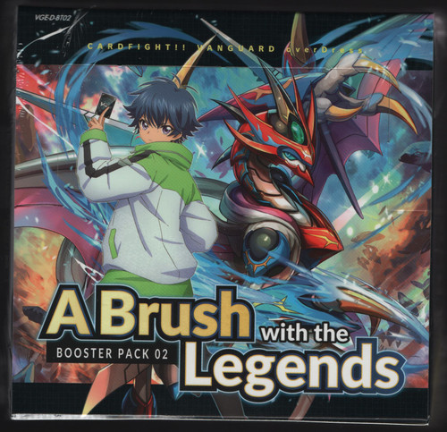 Cardfight! Vanguard OverDress: A Brush With The Legends 02 Booster Box