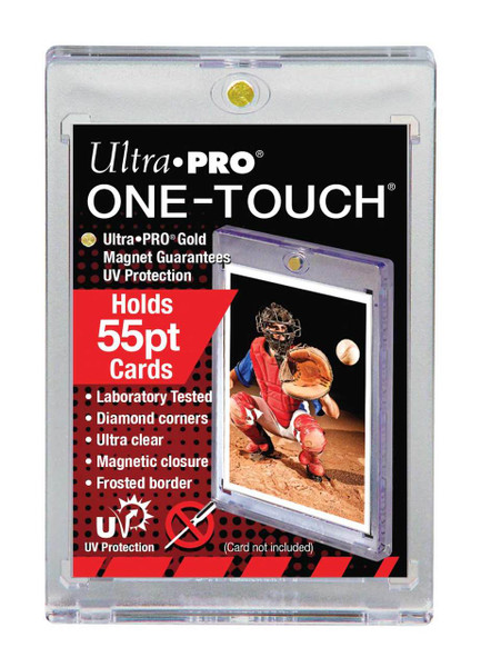 Ultra Pro 55pt One-Touch Magnetic Trading Card Holder with UV Protection