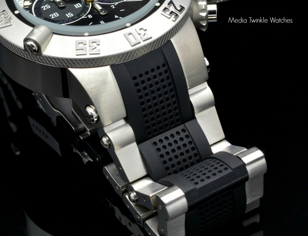 Invicta 5511tt Black Dial Subaqua Noma III Swiss Quartz Chronograph Bracelet Watch   Free Shipping