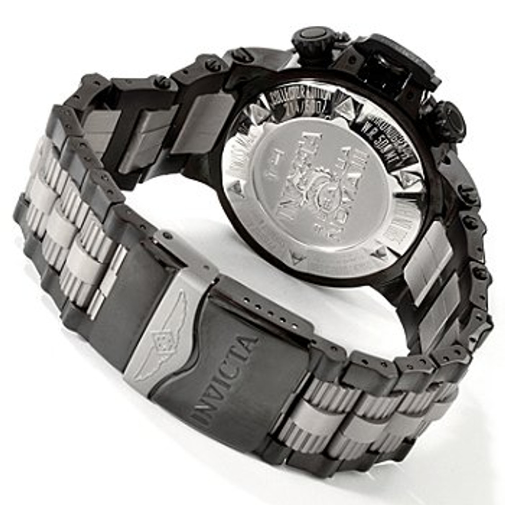 ... Invicta Men s 0805 Subaqua Noma III Chronograph Black Ion-Plated  Stainless Steel Watch  7ca6a3f3f4c