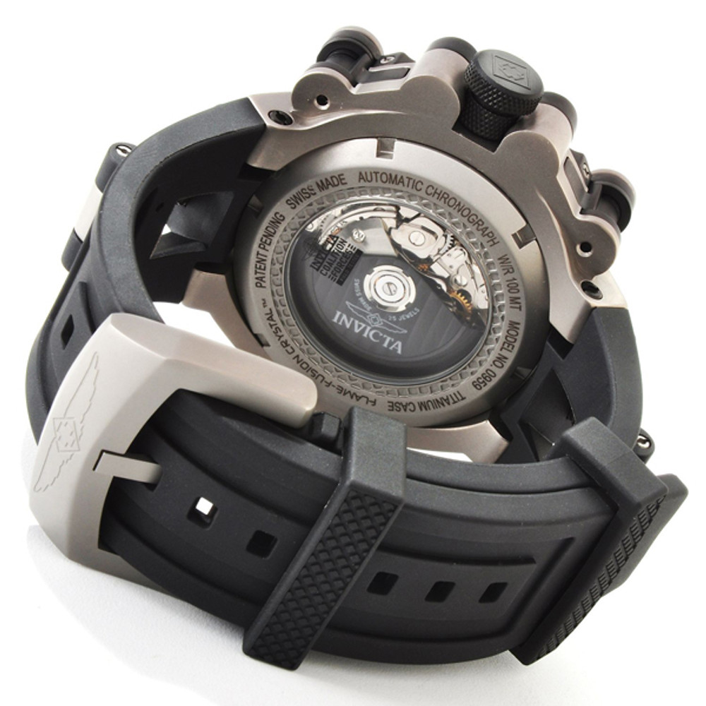 Invicta SW500 Chronograph Automatic Watch 0959