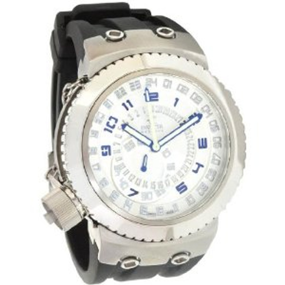 Invicta 0233 Mens Reserve Russian Diver Swiss Made Quartz GMT Watch | Free Shipping