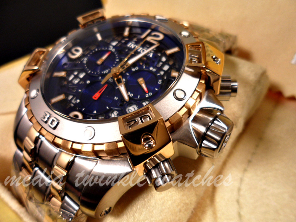 Invicta 1230 Sea Thunder Specialty Two Tone Chronograph Stainless Steel Watch | Free Shipping