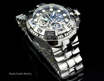 Invicta 15978 Reserve Excursion II Swiss Quartz Chronograph Silver Bracelet Watch | Free Shipping
