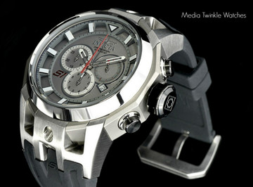 Invicta 16811 S1 Rally 50mm Swiss Made 5040.D Swiss Quartz Chronograph Silver Dial TITANIUM Case Watch | Free Shipping