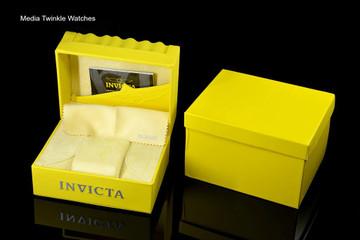 Invicta 52mm Reserve Bolt Hercules Black Dial Quartz Chronograph Silver Bracelet Watch 30541