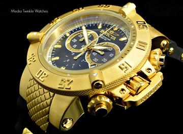 Invicta 5514 Men's Subaqua Noma III Swiss Made Chronograph Collection Black Polyurethane Strap Watch | Free Shipping