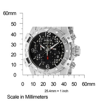 Invicta 1229 Sea Thunder Specialty Black Dial Swiss Parts Chronograph Stainless Steel Bracelet Watch   Free Shipping