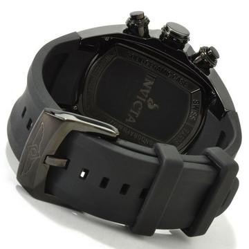 Invicta 0312 Men's Lupah Revolution Ceramic Swiss Chronograph Black Dial Polyurethane Strap Watch | Free Shipping