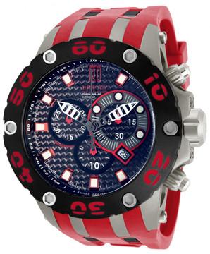 Invicta 12949 Reserve Men's Jason Taylor Specialty Subaqua Scuba Strap Watch w/ 3-Slot Dive Case | Free Shipping