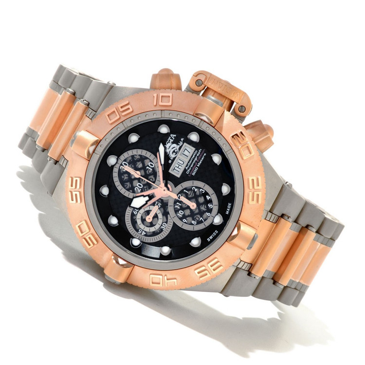 Invicta 11048 Men's Subaqua Noma IV Limited Edition Swiss Valjoux 7750 Automatic Titanium Watch | Free Shipping