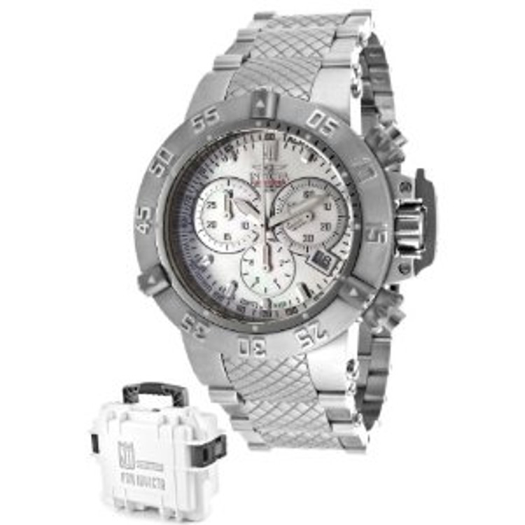 Invicta 14598 Women's Jason Taylor Limited Edition Subaqua Noma III Bracelet Watch w/ Three-Slot Dive Case | Free Shipping