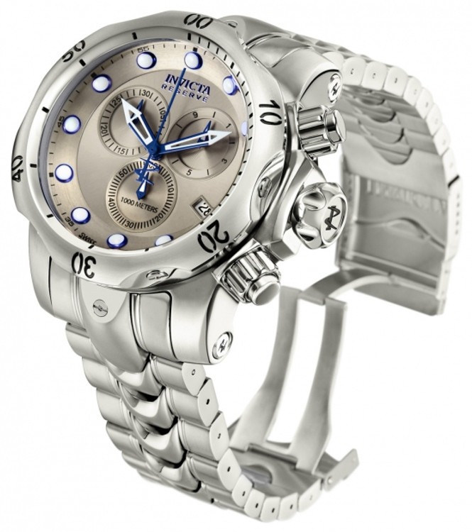 Invicta 11787 Reserve Men's Venom Swiss Made Quartz Chronograph Stainless Steel Bracelet Watch | Free Shipping