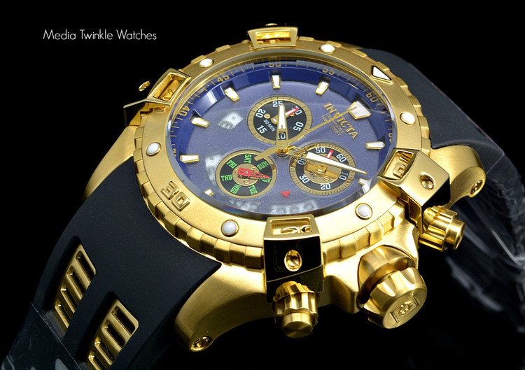 Invicta 15856 Sea Thunder Specialty Blue Dial Swiss Quartz Chronograph Watch | Free Shipping