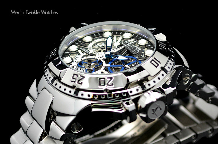 Invicta 15978 Reserve Excursion II Swiss Quartz Chronograph Silver Bracelet Watch | Free Shipping
