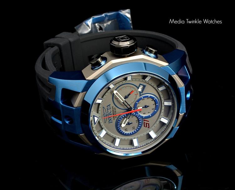 Invicta 16814 S1 Rally 50mm Swiss Made 5040.D Swiss Quartz Chronograph TITANIUM Case Watch | Free Shipping