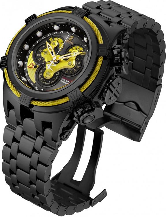 Invicta Jason Taylor Bolt Hyrbid Limited Edition Master Calendar Bracelet Watch w/3 Slot Dive Case  23608