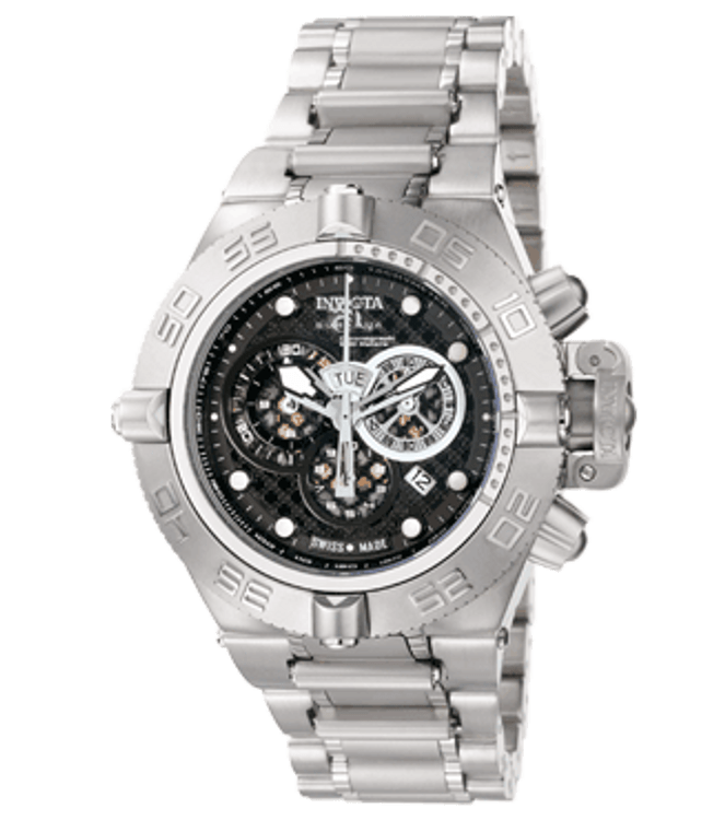 Invicta 6555 Men's Subaqua Noma IV Collection Swiss Made Chronograph Stainless Steel Watch | Free Shipping