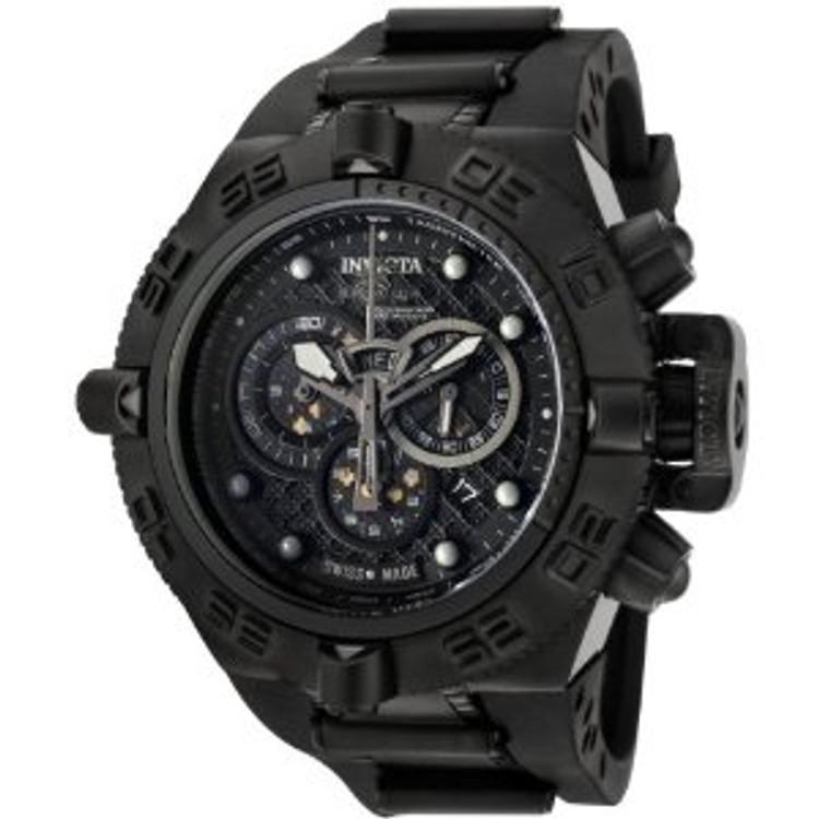 New Invicta Men's 6582 Subaqua Noma IV Chronograph Black Polyurethane Watch | Free Shipping