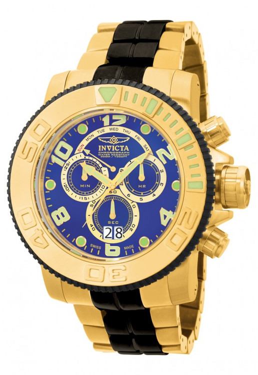 Invicta 10768 Men's Pro Diver Collection Sea Hunter Chronograph Stainless Steel Watch | Free Shipping