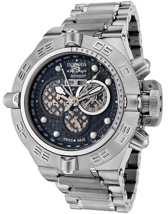 Invicta 6543 Subaqua Noma IV Swiss Made Chronograph Stainless Steel Watch | Free Shipping