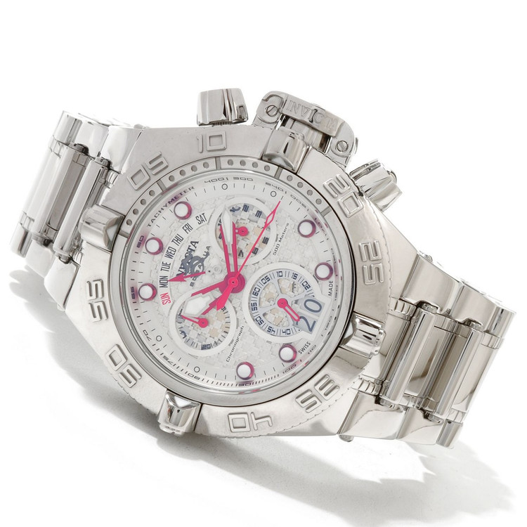 "Invicta 11872 Men's Subaqua Noma IV Swiss Quartz Chronograph "" High Polish "" Bracelet Watch   Free Shipping"