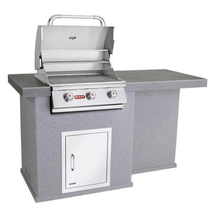 El Dorado Outdoor Kitchen Grey