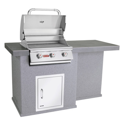 El Dorado Outdoor Kitchen Grey